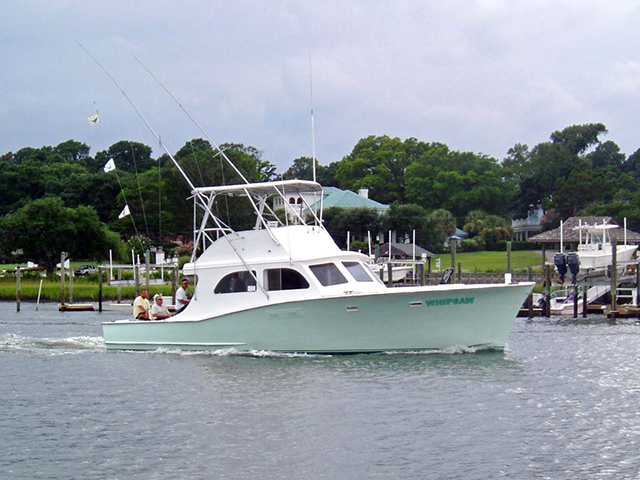 About whipsaw charters for Topsail island fishing charters