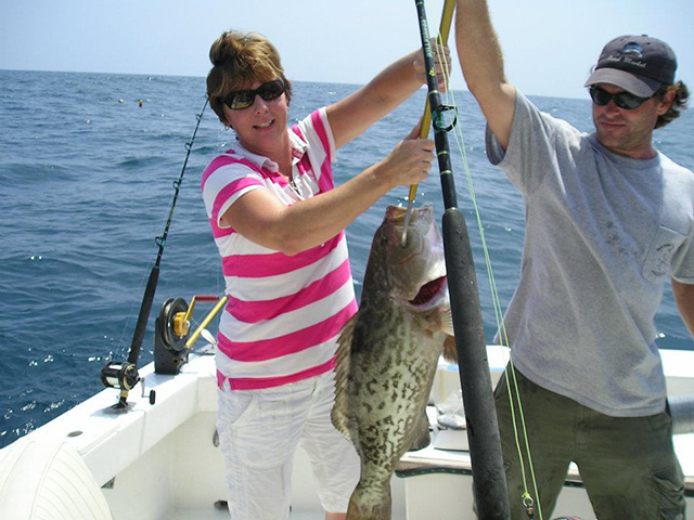 Whipsaw charters testimonials for Topsail fishing report